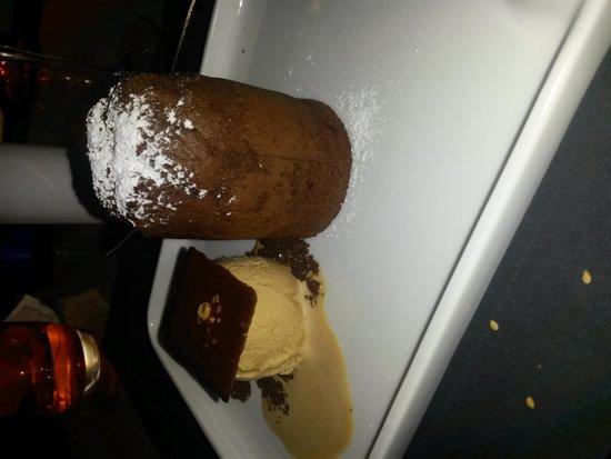Grand Hotel Central: Postre de Chocolate y Dulce de Leche - Rest. Ávalon