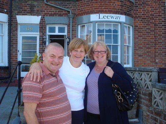 Leeway Hotel: Joyce with Alan & Jude