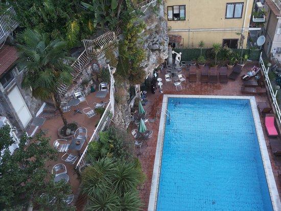 President Hotel Splendid : piscina