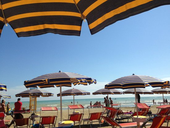 Hotel Biancaneve: spiaggia