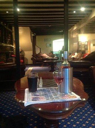 Damson Dene Hotel: lounge area