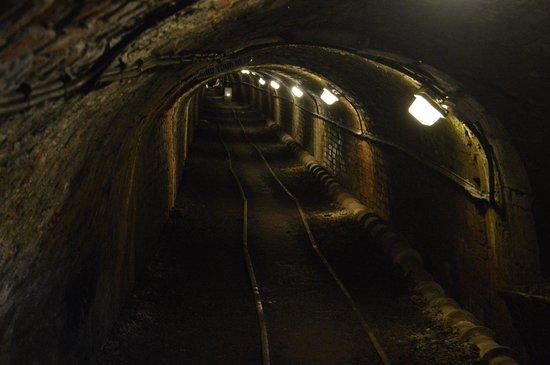 Tar Tunnel: Dark tunnel