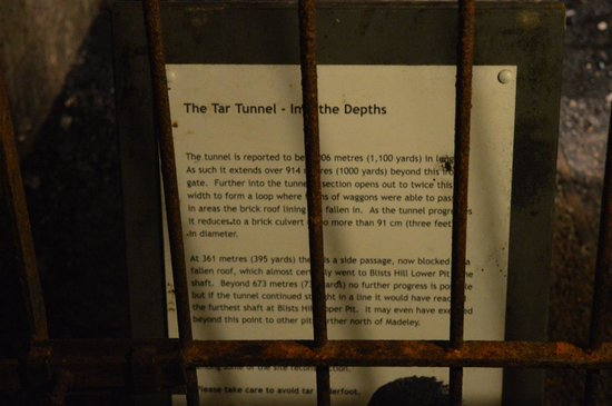 Tar Tunnel: For your information