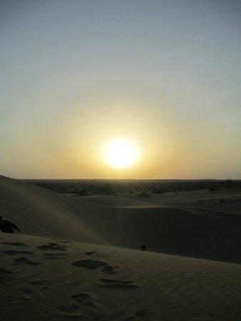 The Real Deal Rajasthan Camel Safari: sun