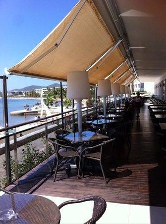 Simbad Hotel: esterno terrazza