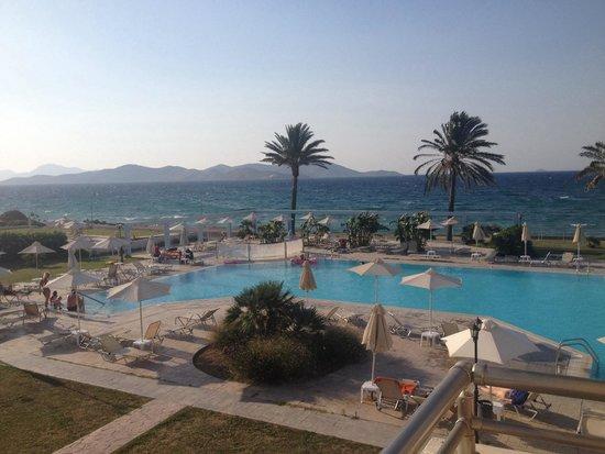 Zorbas Beach Hotel: View from room 105