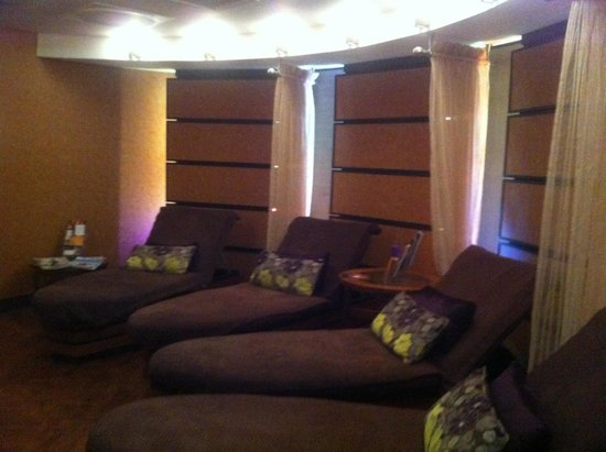 The Grand Hotel & Spa: Spa relaxation room