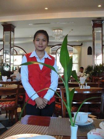 Angkor Holiday Hotel: Miss Sokchan
