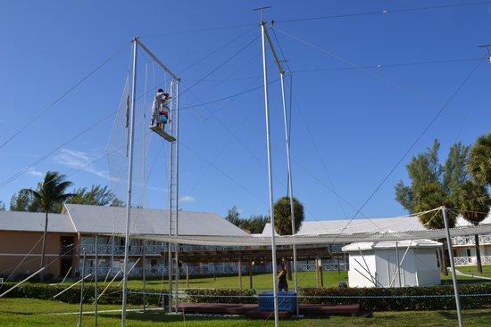 Viva Wyndham Fortuna Beach: activité : trapèze