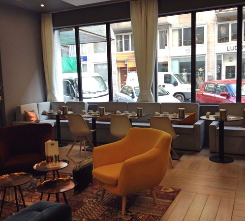 ROOMbach Hotel Budapest Center: Angolo relax