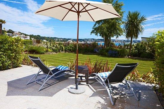 Somerville Hotel: Superior Garden Sea View rooms terrace