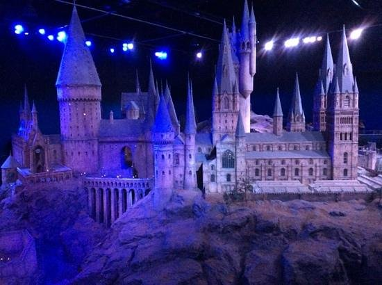 Warner Bros. Studio Tour London - The Making of Harry Potter: 1:24 scale model.  Look at the attention to detail.