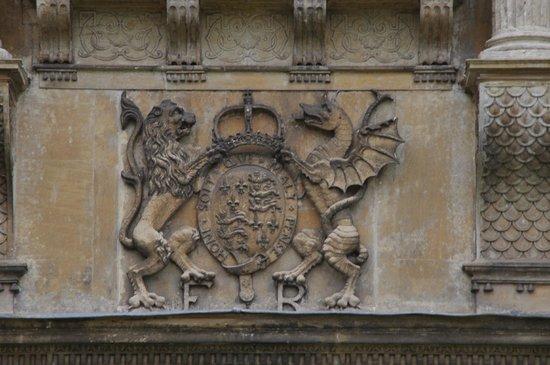 Charlecote Park: Pre Union of the Crowns as there is no Unicorn.