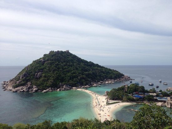 Koh Nang Yuan : Dal view point
