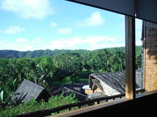 Palau Plantation Resort: 部屋からの眺め