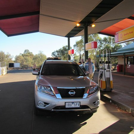Kings Canyon Resort: Gasoline?