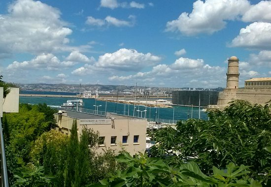 View to the old port from the pool deck picture of - Parking marseille vieux port ...