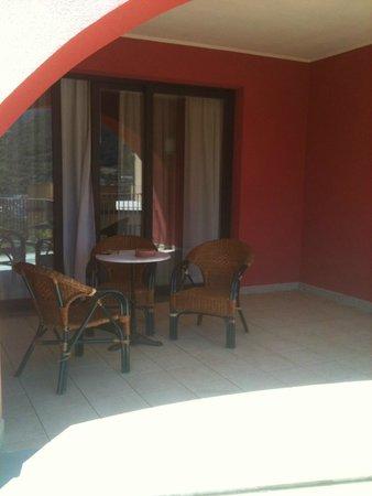 Park Hotel Argento: Balcony