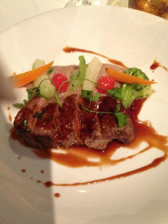 LUX* Grand Gaube : Beef at the mediteranian