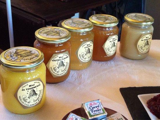 Chateau de Nazelles Amboise: Les produits locaux