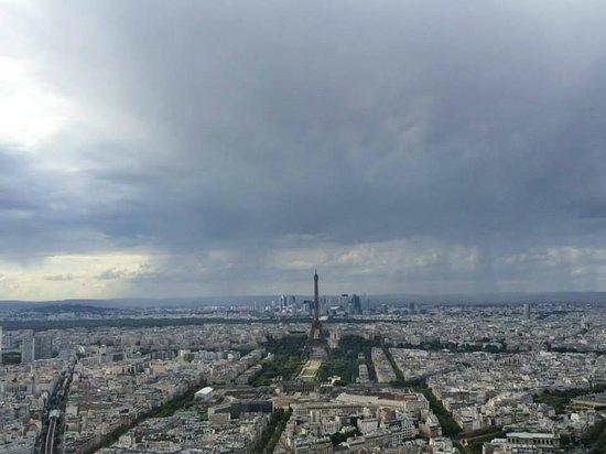 Observatoire Panoramique de la Tour Montparnasse: View from the Panoramic Terrace