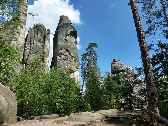 Adrspach-Teplice Rocks: rock formation