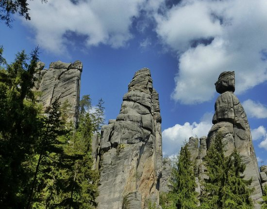 Adrspach-Teplice Rocks: the lovers