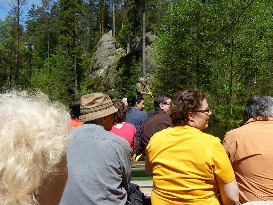 Adrspach-Teplice Rocks: the pond