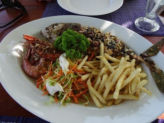 Dilena Beach Inn Sea Food Restaurant Fresh Catch Of The Day Delicious
