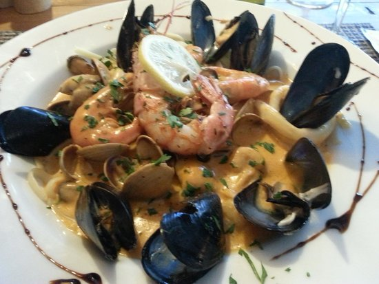 Samaná : Linguini aux fruits de mer