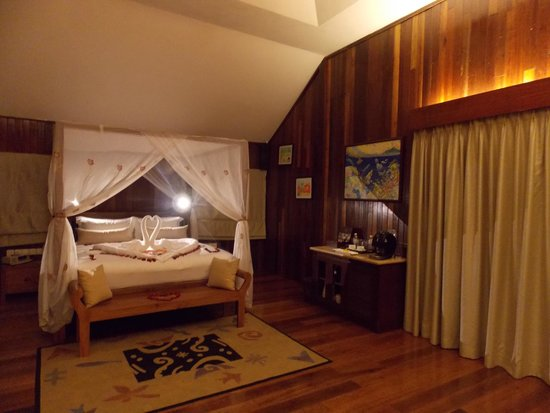 Bunga Raya Island Resort & Spa: Tree-house villa