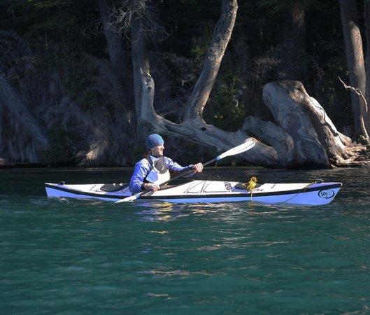 Cuadrante Sur Kayak Bariloche: Vista de la costa