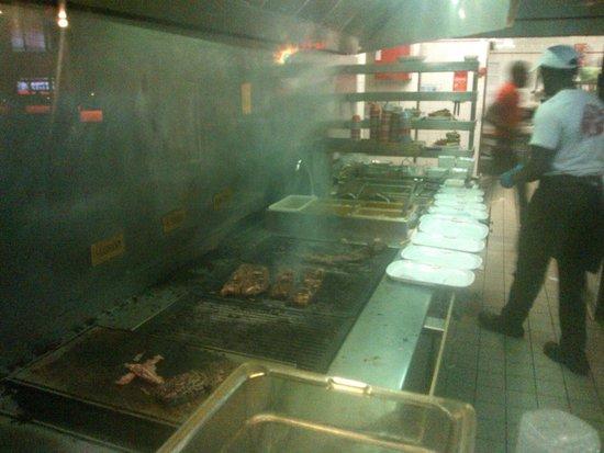 Buffalo Grill de Geneve Aeroport: grigliata al buffalo grill