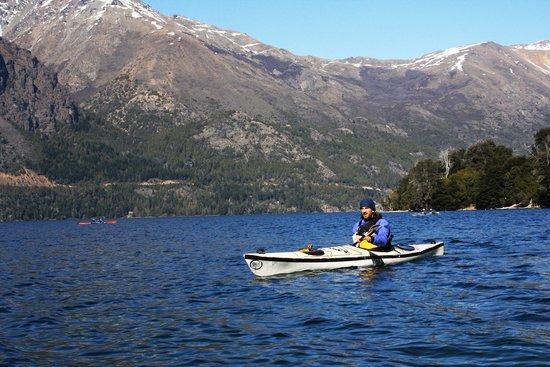 Cuadrante Sur Kayak Bariloche: Vista de la montaña