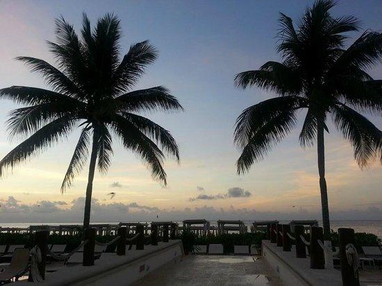 The Royal Playa del Carmen: sunrise