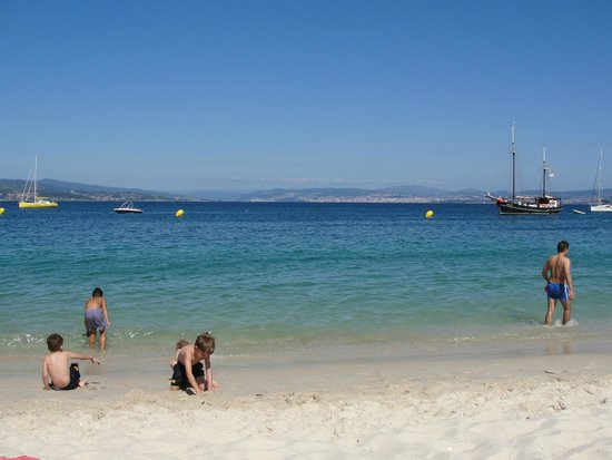 Playa de Rodas: Ilhas de Cíes
