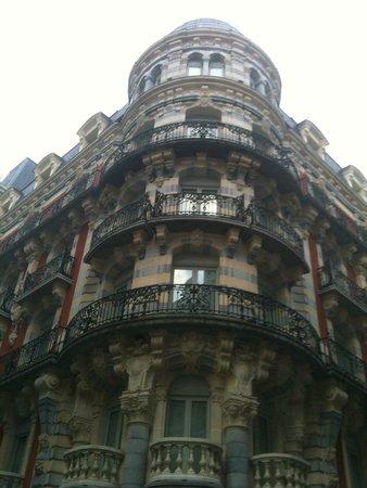 Grand Hotel Moderne : Hotel view