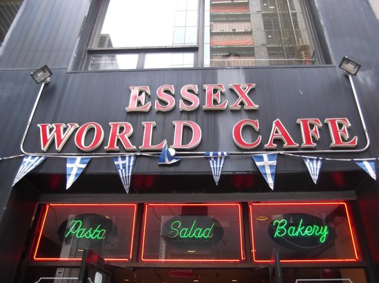 Essex World Cafe: OPutside the entrance