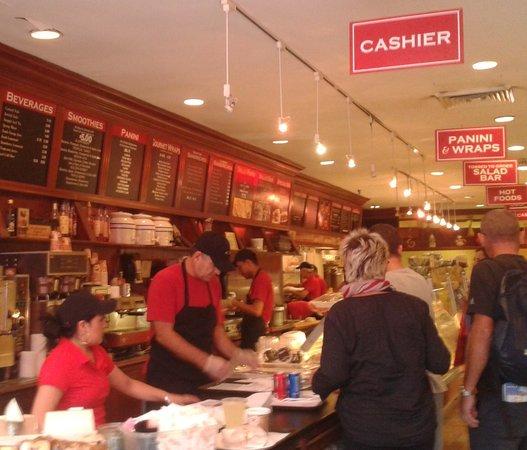 Essex World Cafe: The service area