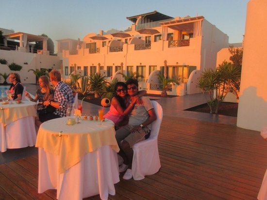 Anastasis Apartments: Enjoying Sunset at  Anastasis