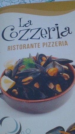 Cozzeria Alle Mura: il menu