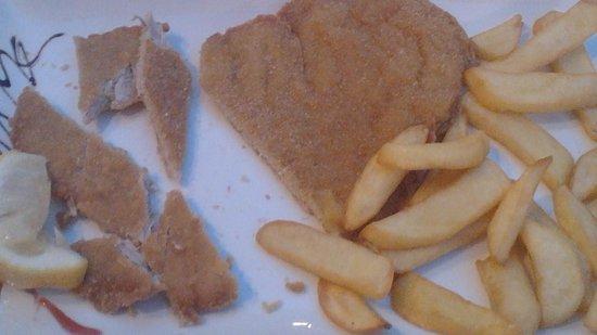 Cozzeria Alle Mura: cotoletta con patate