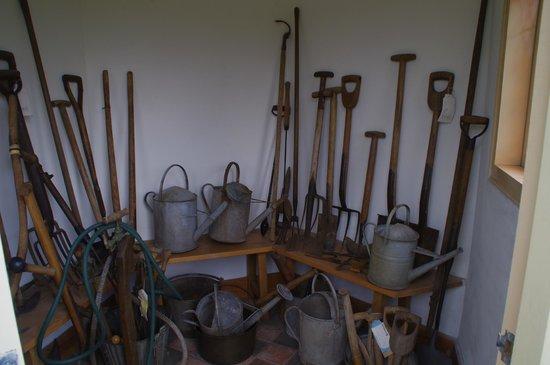 Hill Close Gardens: Victorian gardening tools