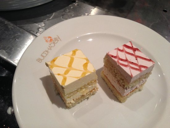 Buddha Belly: Sample of cakes