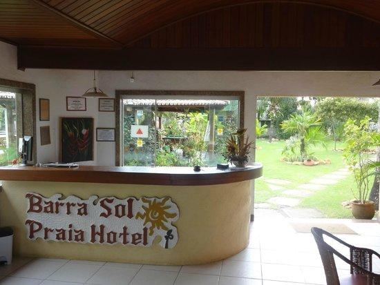 Barra Sol Praia Hotel : Recepção