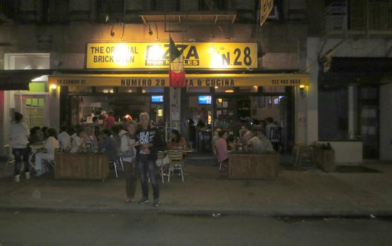 Numero 28 Pizzeria : il ristorante