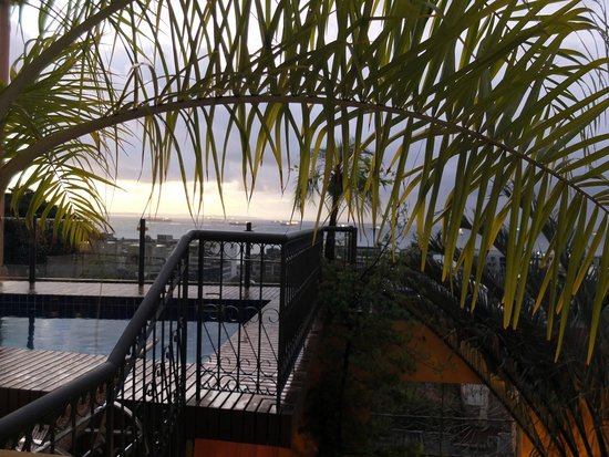 Hotel Casa do Amarelindo: View from balcony of Room 4