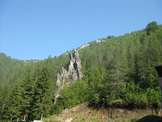 Trigrad, Bulgaria: вЯгодинской пещере нельзя фотографировать, поэтому я сняла вид напротив входа