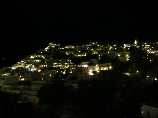 Hotel Savoia: night view from my balcony