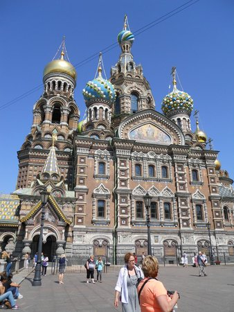 Guide Guru Private Day Tours : Church of the Spilled Blood